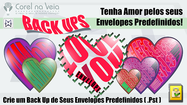 salve seus envelopes do CorelDraw