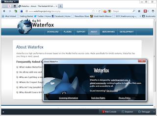 waterfox generasi baru dari mozilla firefox