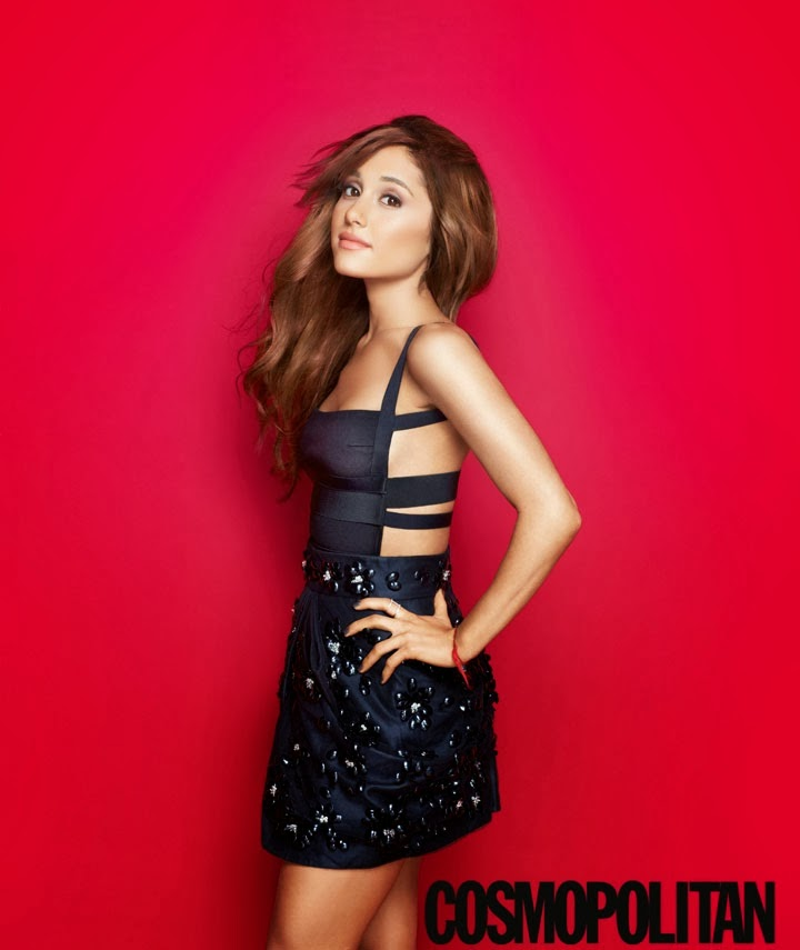 Magazine Photoshoot : Ariana Grande Photoshot For Matt Jones Cosmopolitan Magazine US February 2014 Issue