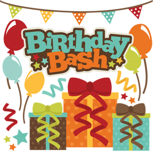 Birthday Bash cut file set by Miss Kate Cuttables