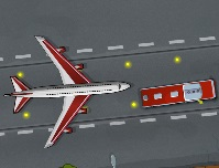 لعبة ركن اوتوبيس المطار