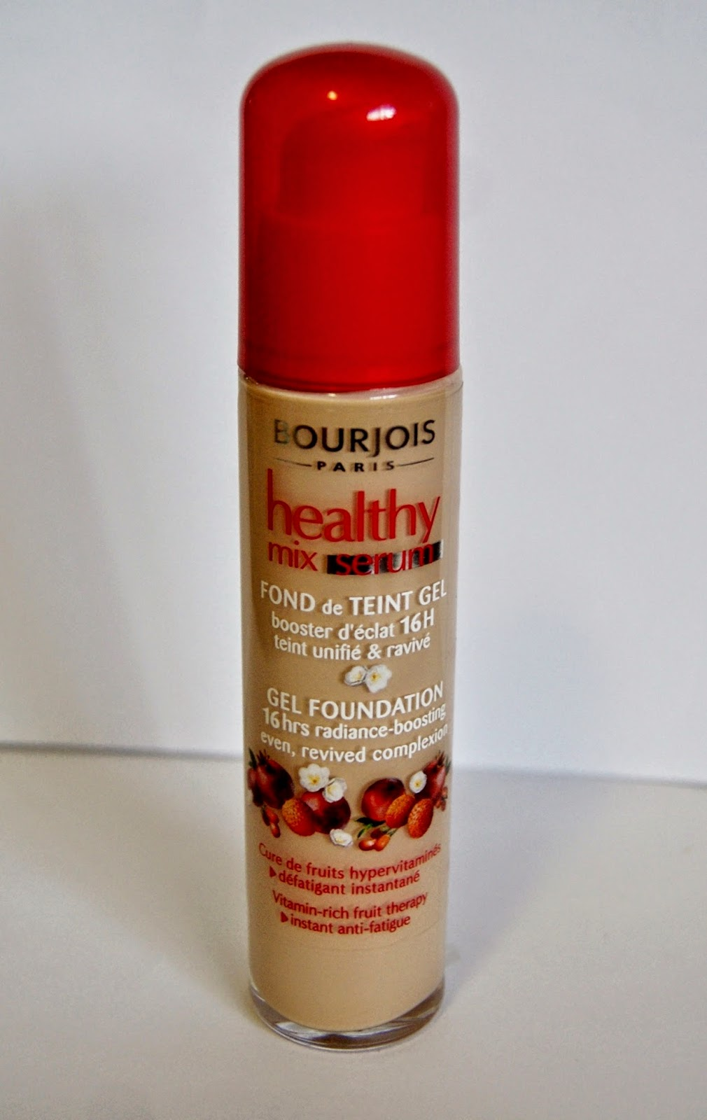 Bourjois Paris Healthy Mix Serum Gel Foundation Beauty Review Make up Melanie.Ps blogger Toronto The Purple Scarf