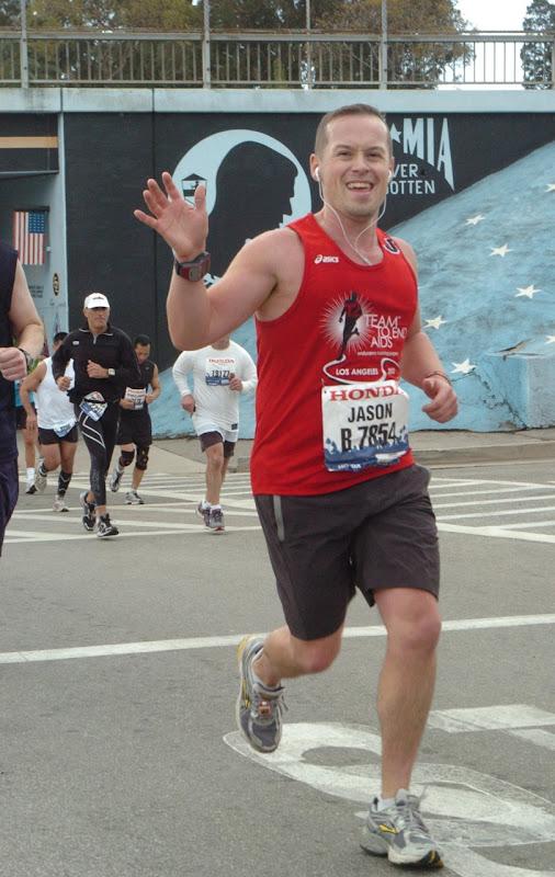 Jason's LA Marathon 2012
