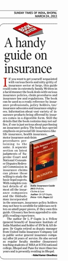 Drl p gupta october 2016 the book can be used as a ready reference by insurance professionals policy holders taxinsurance advocates and insurance employees fandeluxe Gallery