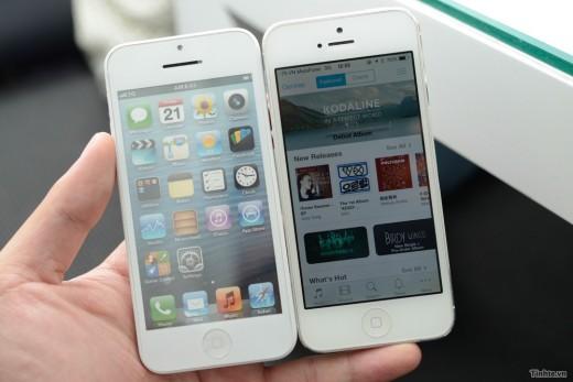 IPhone 5S 5C 5 Compare 003