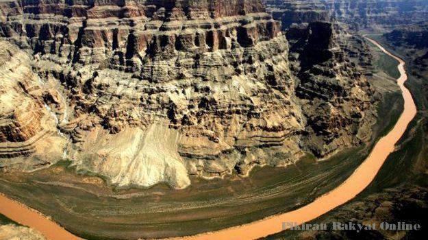 Grand Canyon Terbentuk 60 Juta Tahun Lalu