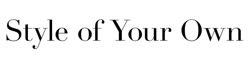 Style of Your Own