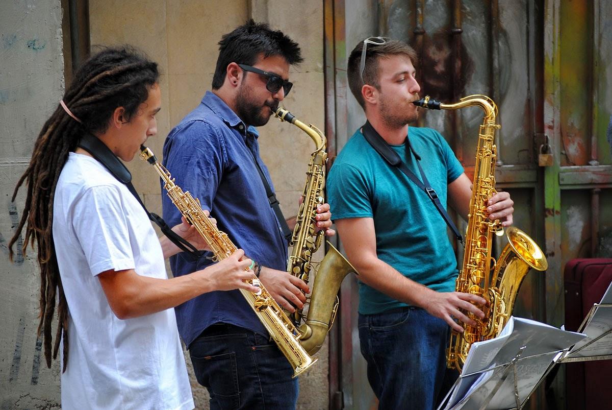 Villa Fotoblogg Berzosa Jazz Band Jam Session En La Rua