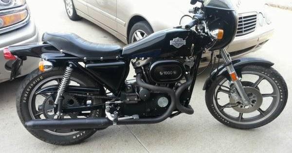 Gymi's Garage: 1977 Harley - Davidson XLCR - $10500