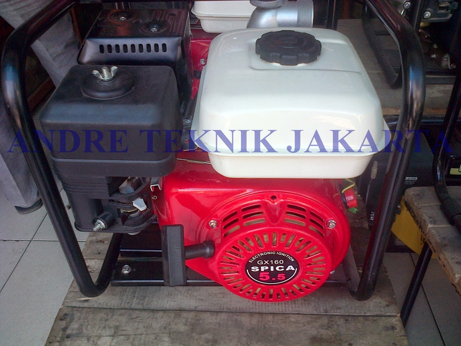 Andre Teknik Jakarta February 2014 Karburator Mesin Penggerak Gx160 Kw 55pk 160cc