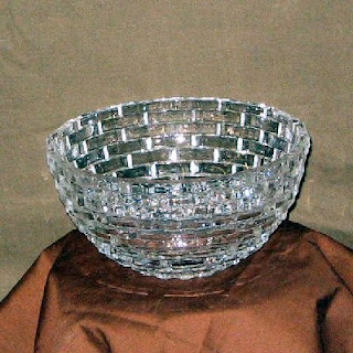 Cut Glass Sparkling Bowl