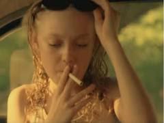 Dakota Fanning Smoking Cigarettes