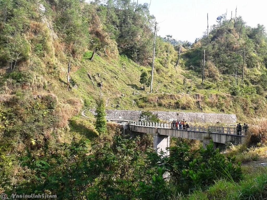 Jembatan di Kali Kuning, Cangkringan