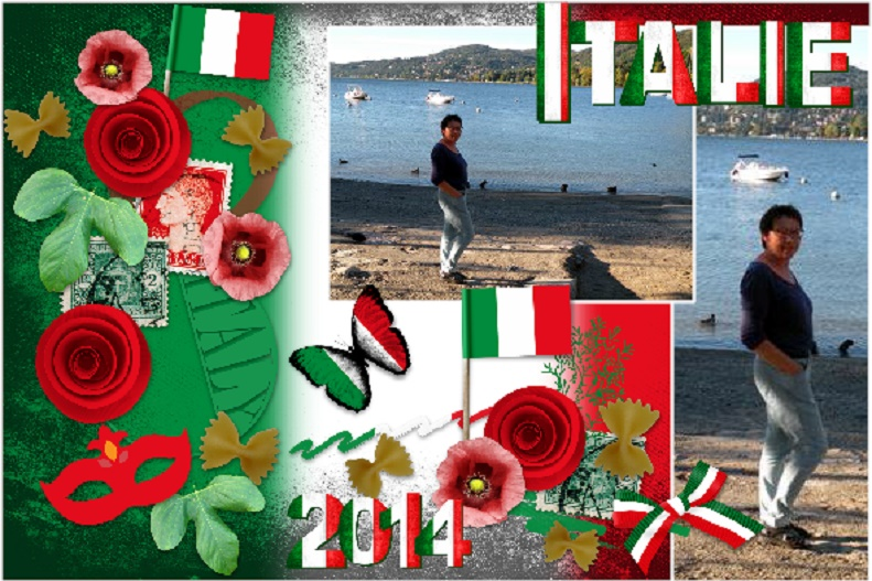 Aug.2016- Visiting Italie in 2014