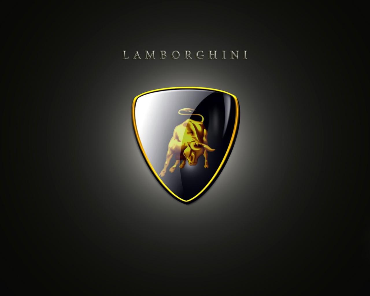Lamborghini Emblem HD Widescreen Wallpaper