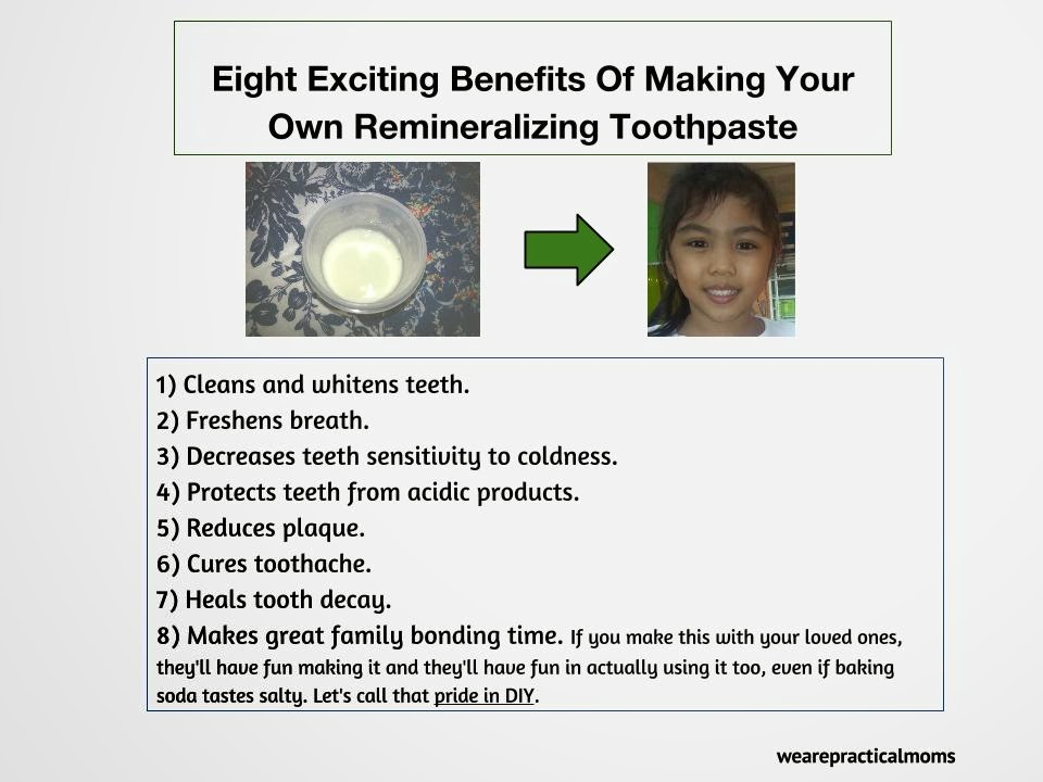 Eight Exciting Benefits Of Making Your Own Remineralizing Toothpaste