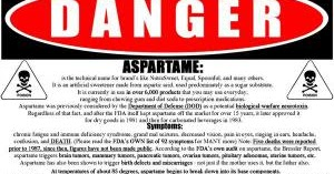 aspartame dangers essay example Sugar vs artificial sweeteners lead to side effects example cause many side effects such as the aspartame in which can cause brain tumor.
