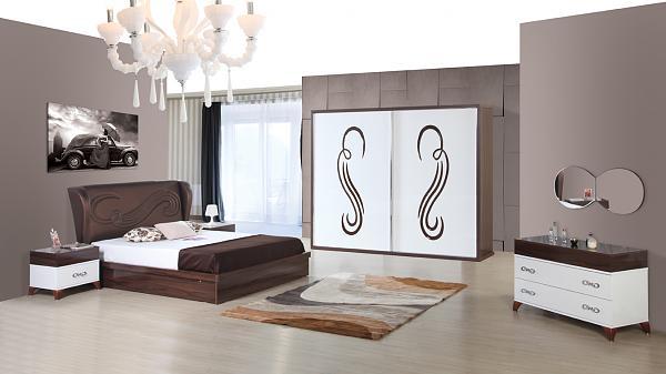 Id es de d coration pour les chambres modernes int rieur d cor decoration interior - Chambre a coucher pour couple ...