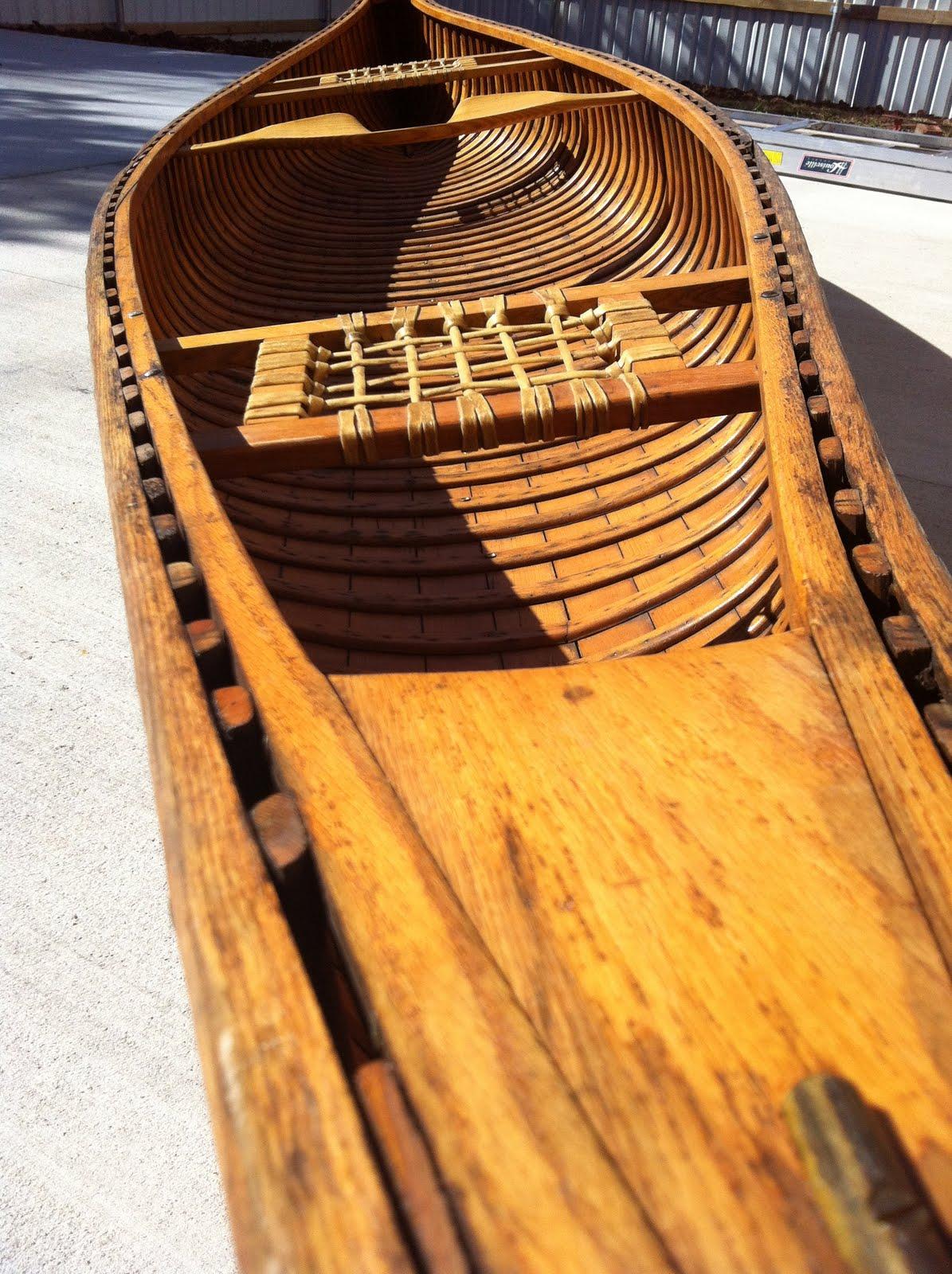 Oklahoma Barn Market Vintage Old Town Canoe