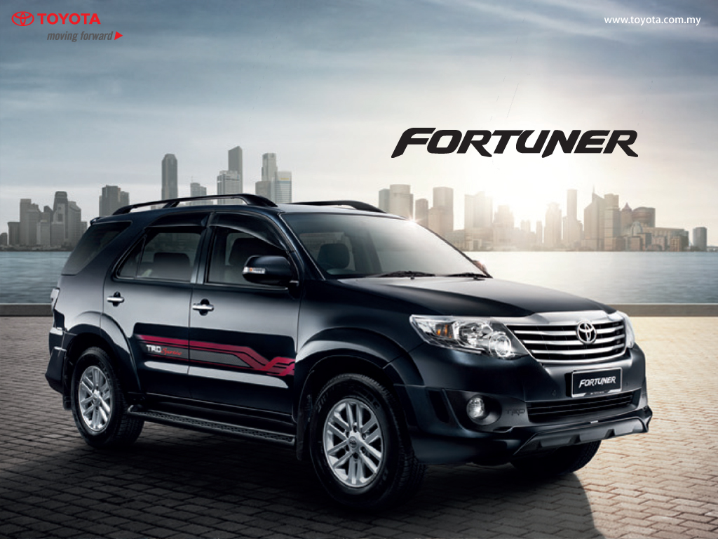 My Car Wallpaper Toyota Fortuner
