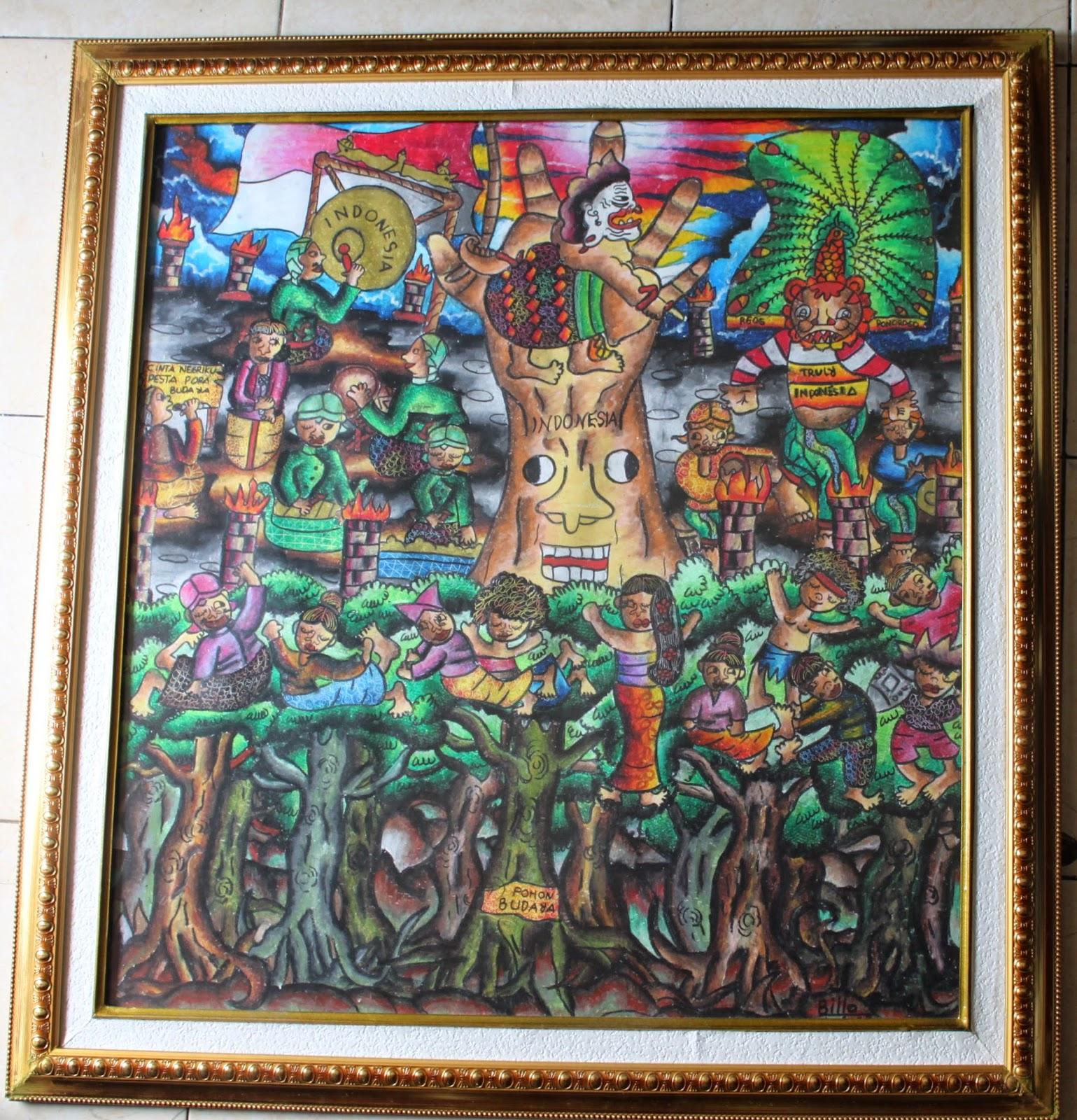 CINTA NEGERIKU III Pohon2 budaya tumbuh subur di negeri sendiri meskipun berdampingan dengan majunya teknologi