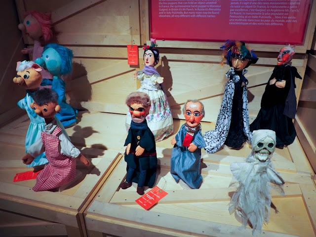 Marionetas del TOPIC de Tolosa