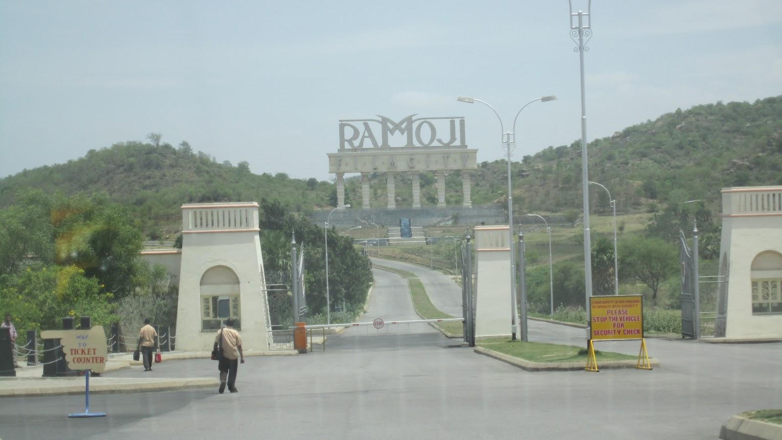 essay on ramoji film city