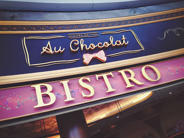 Au Chocolat Bistro at The Shoppes at Marina Bay Sands