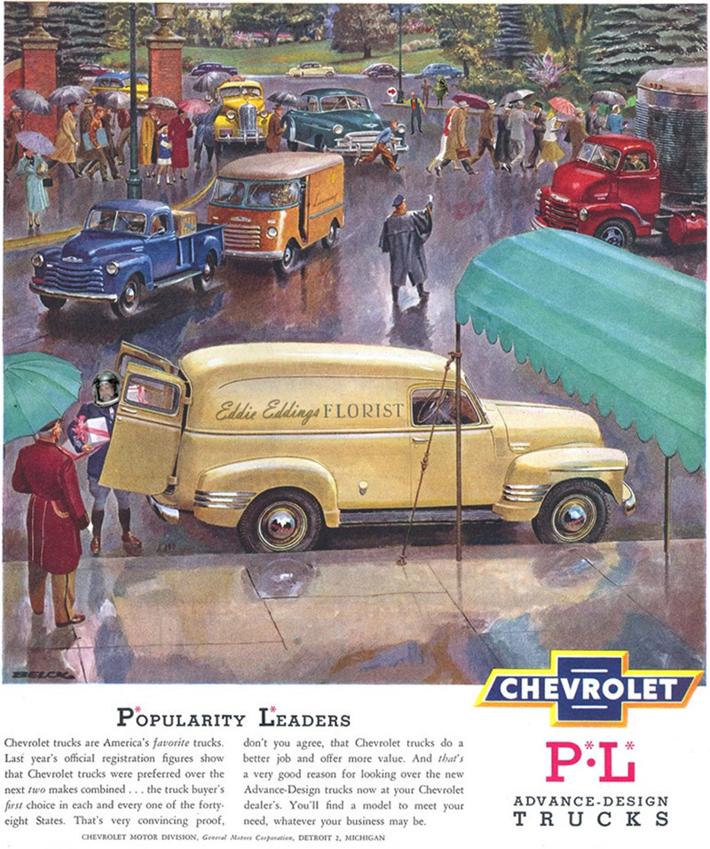 Calvinistic Cartoons: Old Chevy Ad