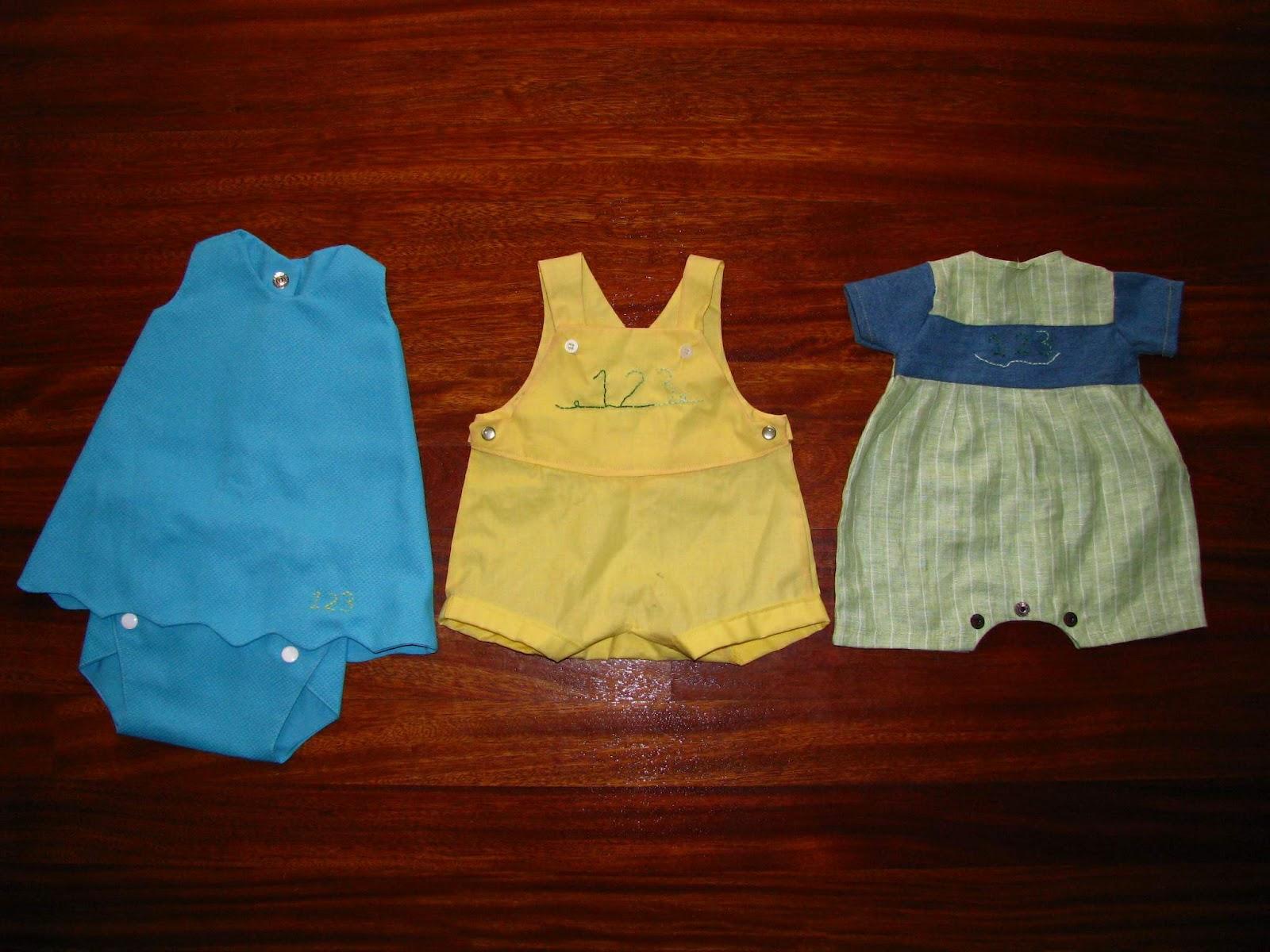 Costurera Novatilla: Ropa de niños y bebés
