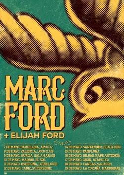 Gira por España de Marc Ford en mayo de 2014