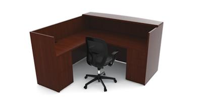 Ruby Reception Desk RU-233N by Cherryman