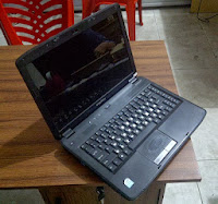 laptop bekas, emachine d720