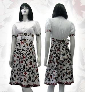 model baju batik terkini