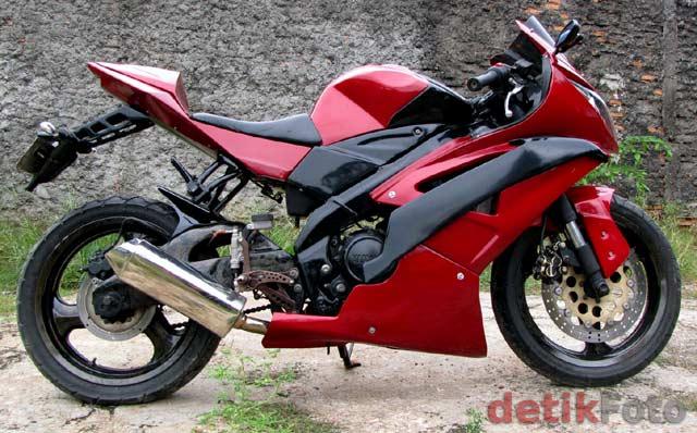 Modif Yamaha Vixion Monster