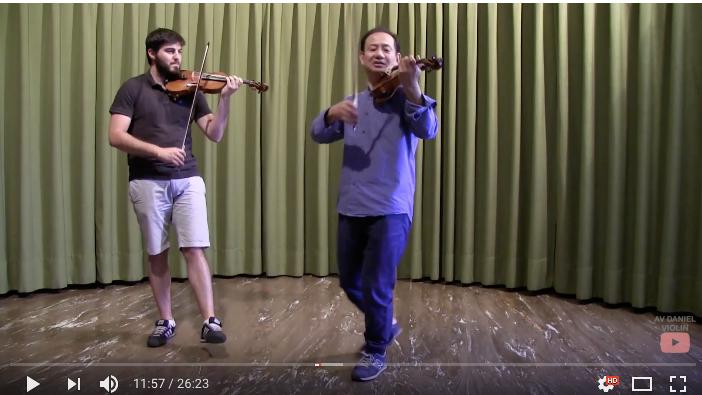 AV Daniel Violin