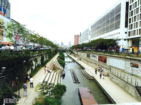 Travel Diary : Myeong-dong Street, Dongdaemun area & Cheonggyecheon stream,Seoul  (Day 2)