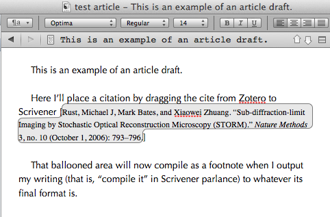 How do you write a cited paper?