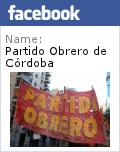 Partido Obrero de Córdoba en Facebook: