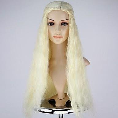 Peluca Cosplay Daenerys