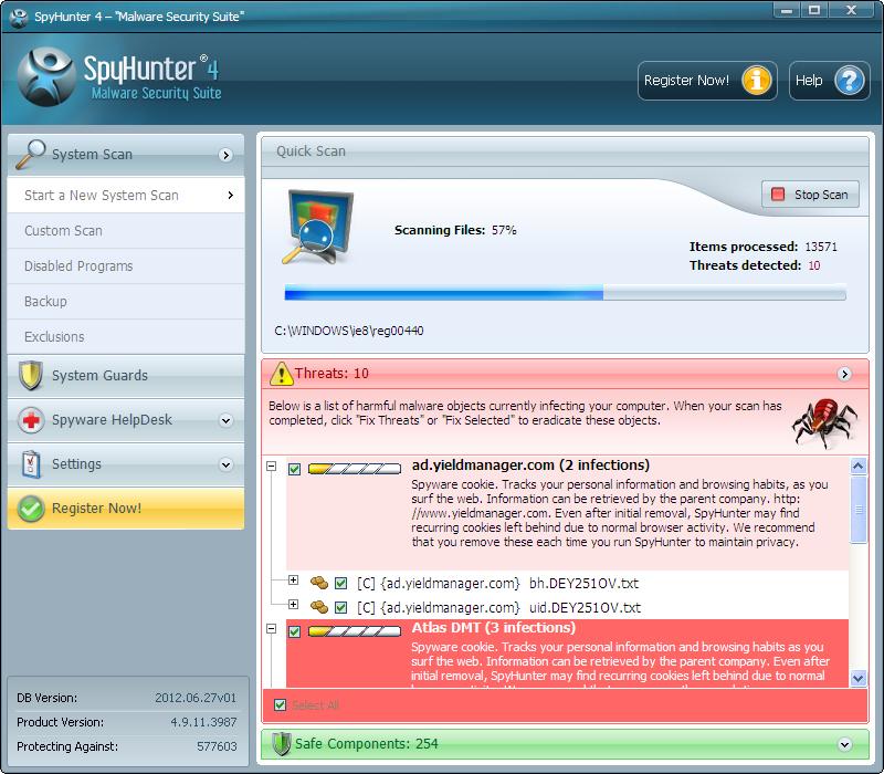 SpyHunter v4.17.6.4336 Full indir