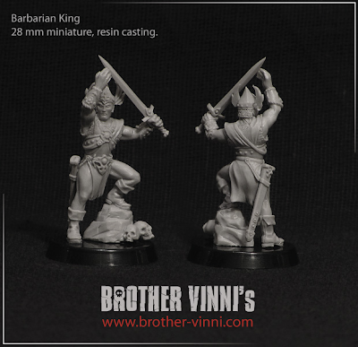 Brother Vinni's Barbarian King