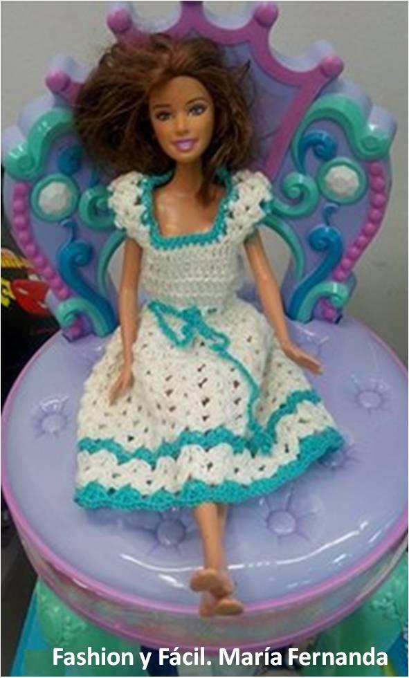 Fashion y Fácil : ¿Cómo luce Barbie con una prenda tejida a crochet ...