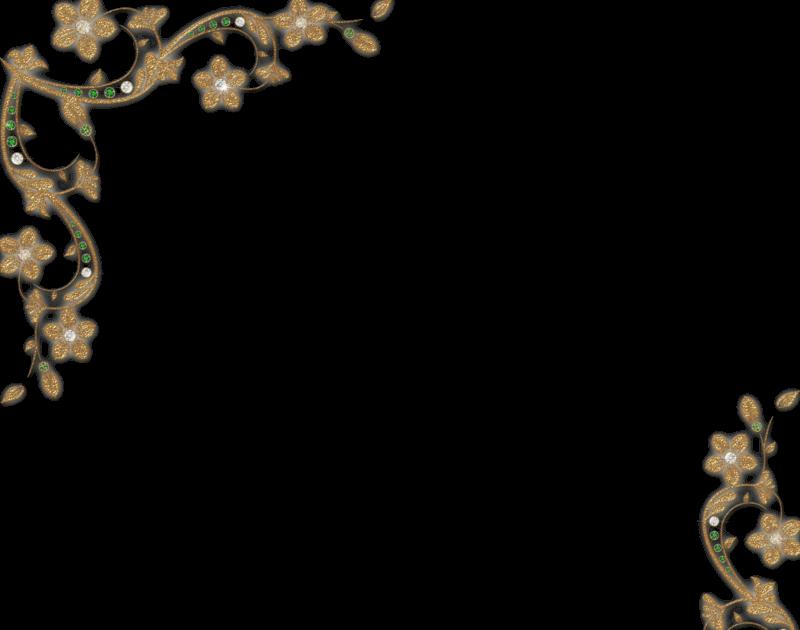 7 bellos bordes dorados para fotos gratis en png