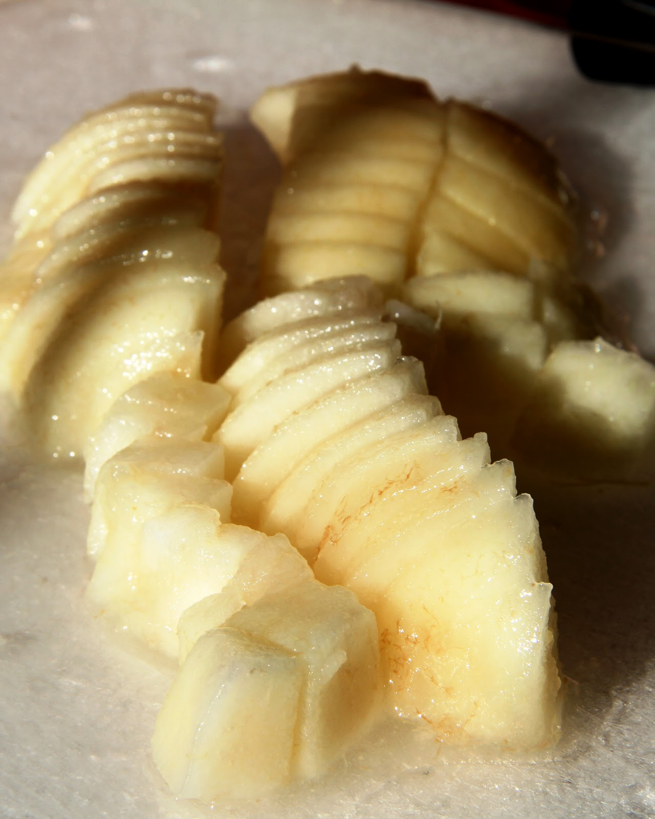 Preserved Pears with Lemon