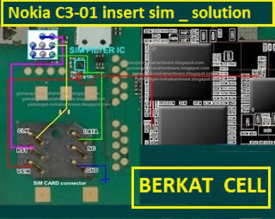 Trik Jumper Nokia C3-01 Sim Problem Solution