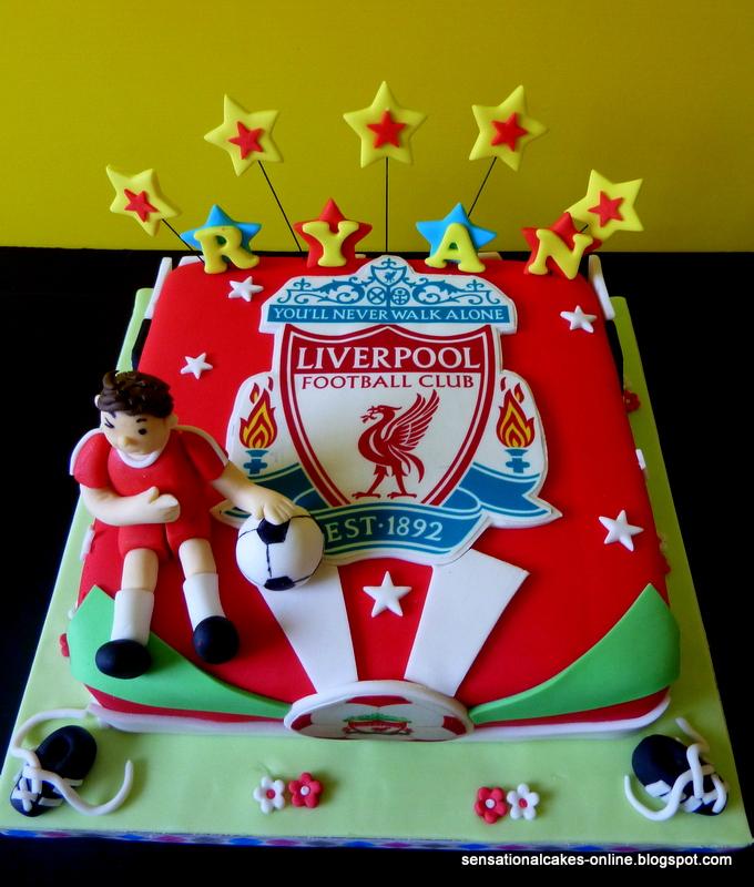 Cake Inspiration Liverpool Football Club 3D Birthday cake for Ryan