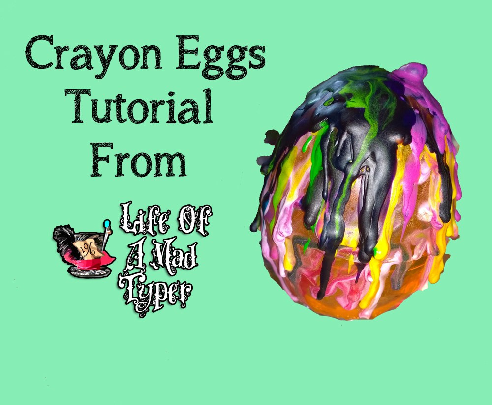 Crayon eggs tutorial