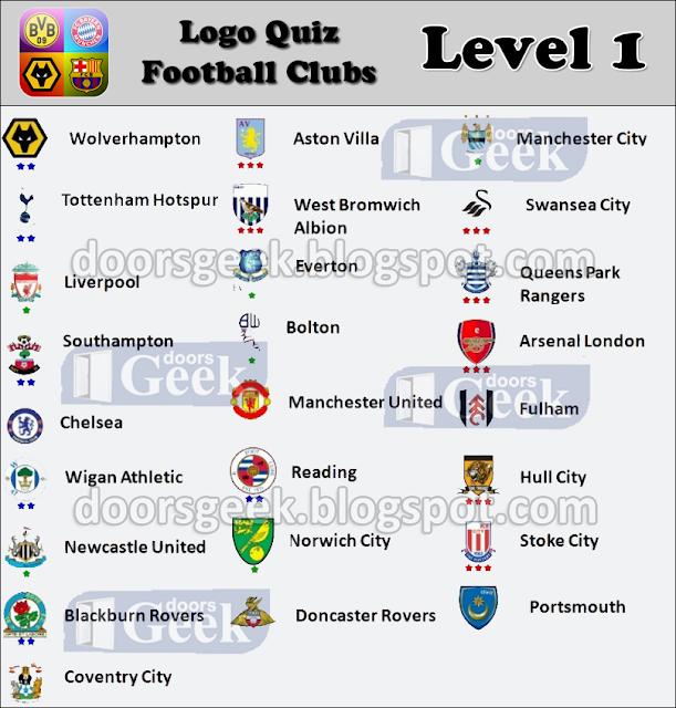 Football Logos Quiz Level 1