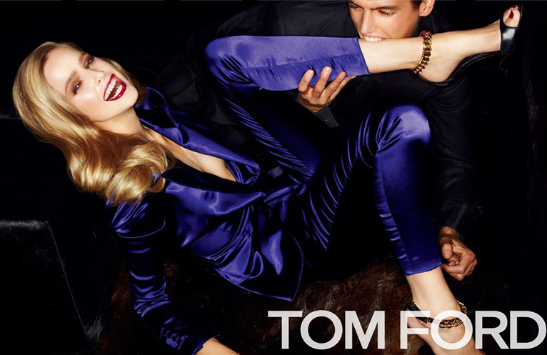 Tom Ford Spring 2012 Campaign